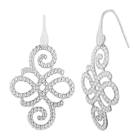 Made in Italy Sterling Silver Drop Earrings