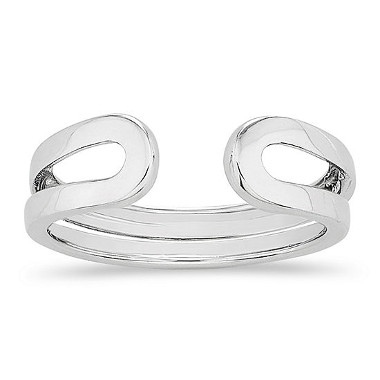 Womens Sterling Silver Band