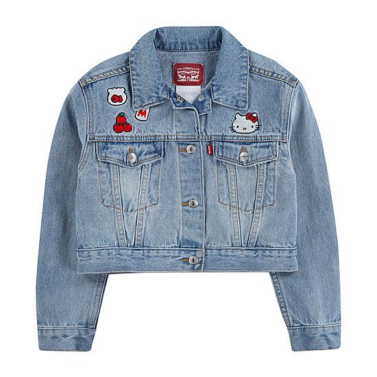 Levi's Girls Hello Kitty Denim Jacket-Toddler