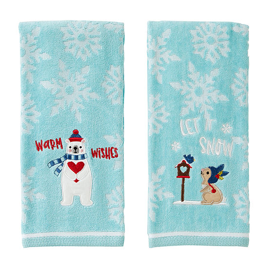 Saturday Knight Bunny Bear 2-pc. Hand Towel