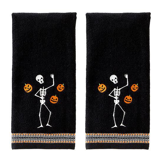 Saturday Knight Juggling Skelton 2-pc. Hand Towel