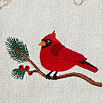 Saturday Knight Pinecone And Cardinal 2-pc. Hand Towel