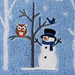 Saturday Knight Winter Friends Holiday Bath Towel