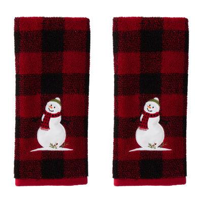 Saturday Knight Woodland Winter 2-pc. Hand Towel