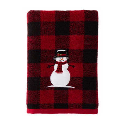 Saturday Knight Woodland Winter Holiday Bath Towel