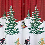 Saturday Knight Scenic Tree Shower Curtain Set