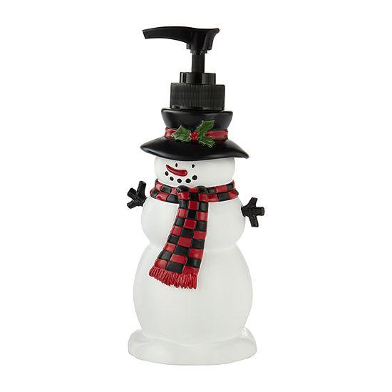 Saturday Knight Woodland Winter Soap Dispenser