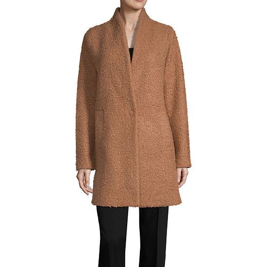 Worthington Womens Long Sleeve Cardigan