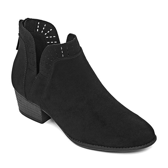 Arizona Womens Julian Block Heel Booties