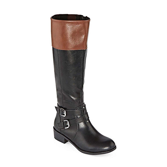 Arizona Womens Denver Block Heel Riding Boots