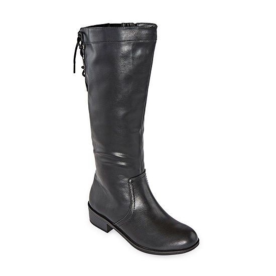 Arizona Womens Doral Block Heel Zip Riding Boots