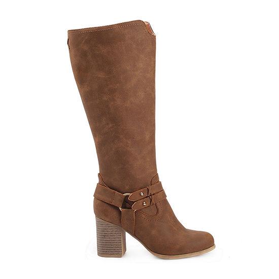 Dolce By Mojo Moxy Womens Dalaney Riding Boots Block Heel