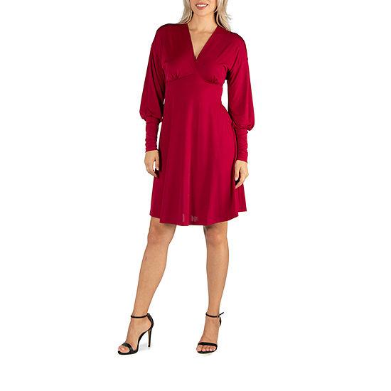 24/7 Comfort Apparel Cocktail Dress