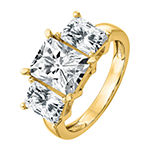 True Light Womens 4 1/2 CT. T.W. Lab Created White Moissanite 14K Gold Engagement Ring