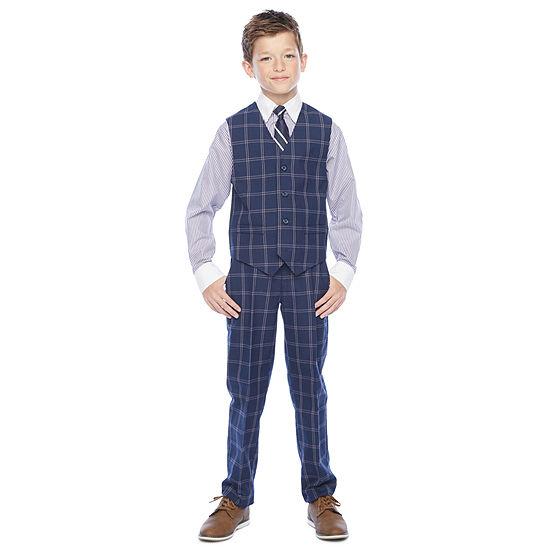 Steve Harvey Boys 4-pc. Suit Set Preschool / Big Kid