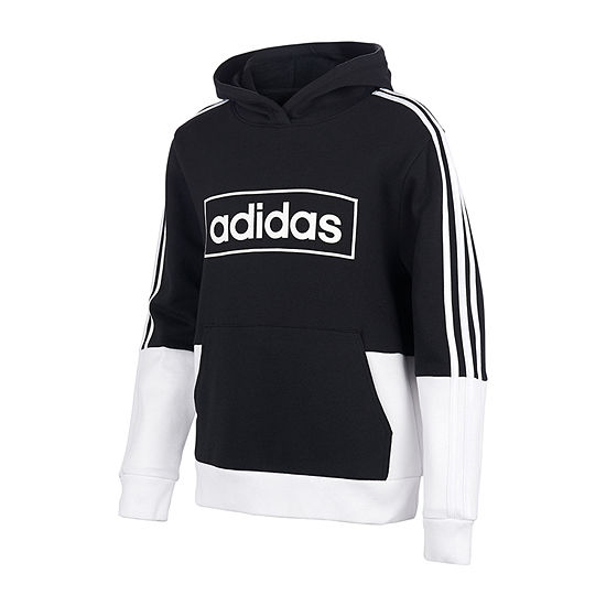 adidas Cotton Fleece Big Boys Hoodie
