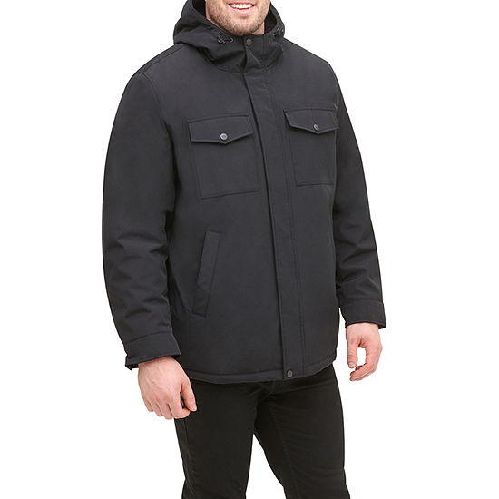 Dockers Big & Tall Sherpa Lined Soft Shell Storm Coat