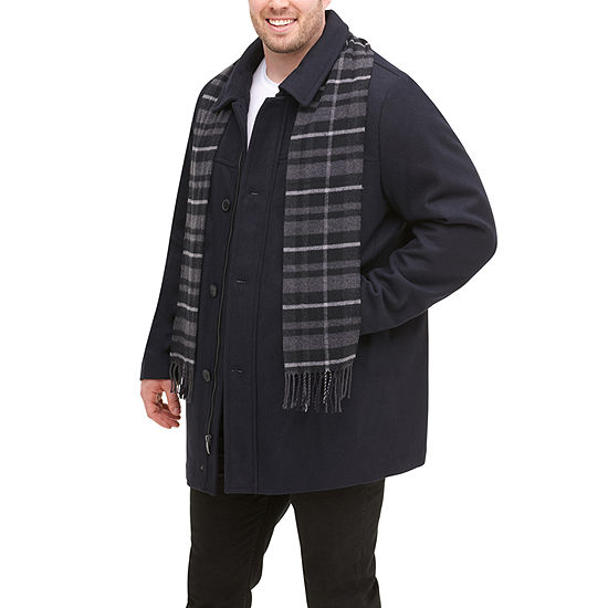 Dockers Wool Scarf Coat Big and Tall