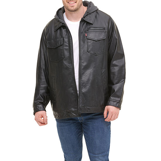 Levi's Faux Leather Midweight Bomber Jacket Big and Tall