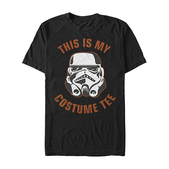 Star Wars Stormtrooper Costume Mens Crew Neck Short Sleeve Star Wars Graphic T-Shirt