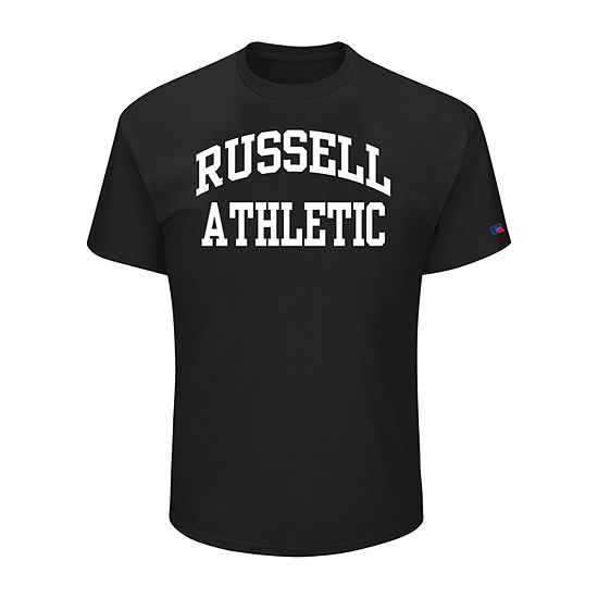 Russell Athletics-Big and Tall Mens Crew Neck Short Sleeve T-Shirt