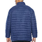 The Foundry Big & Tall Supply Co. Water Resistant Lightweight Puffer Jacket - Big and Tall