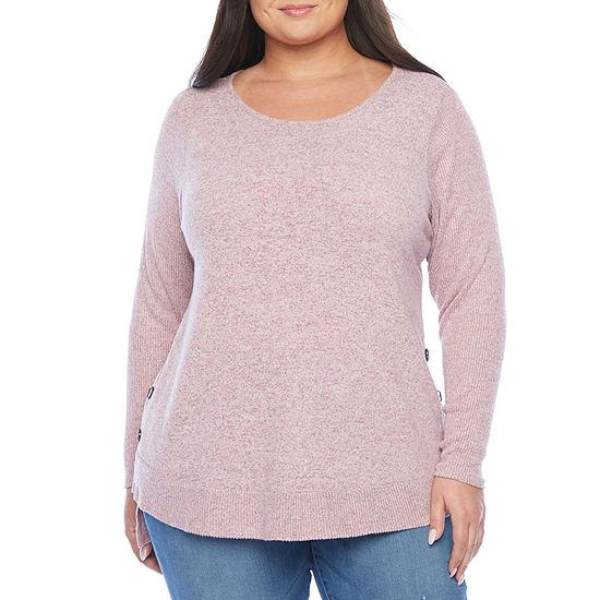 Alyx Womens Side Button Knit - Plus