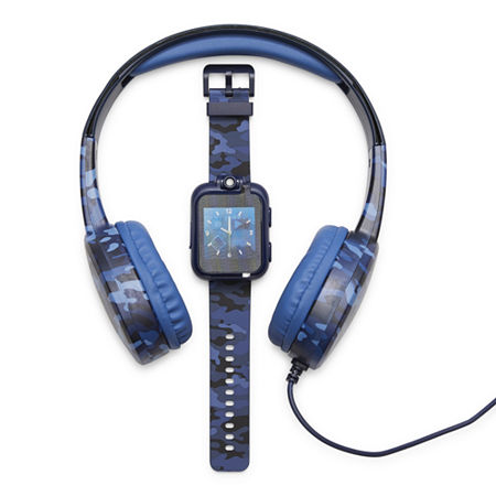Itouch Playzoom Bundle Boys Blue Smart Watch 9209wh-18-G55, One Size