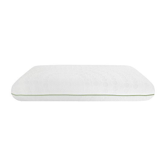 SensorPEDIC Wellness Collection Aloe Vera Infused Memory Foam Pillow