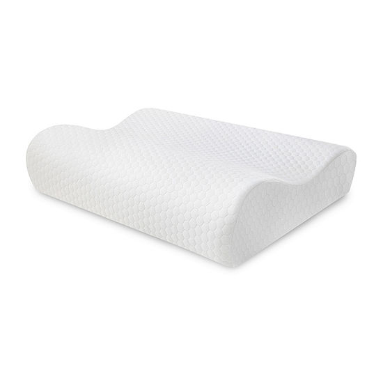 SensorPEDIC Essentials Memory Foam Contour Pillow