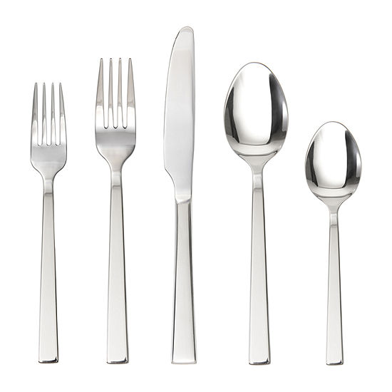Crafthouse By Fortessa Ciro 42-pc. 18/10 Stainless Steel Flatware Set