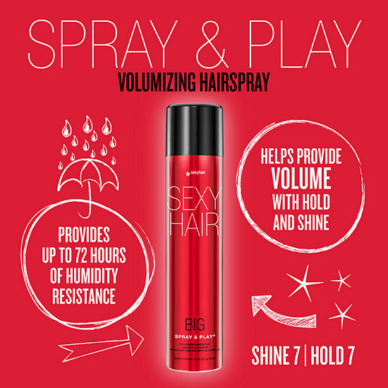 BIG SEXY HAIR SPRAY AND PLAY 10 OZ