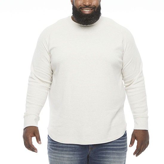 The Foundry Big & Tall Supply Co. Mens Crew Neck Long Sleeve Thermal Top