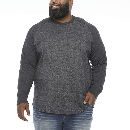 The Foundry Big & Tall Supply Co.Mens Crew Neck Long Sleeve Thermal Top