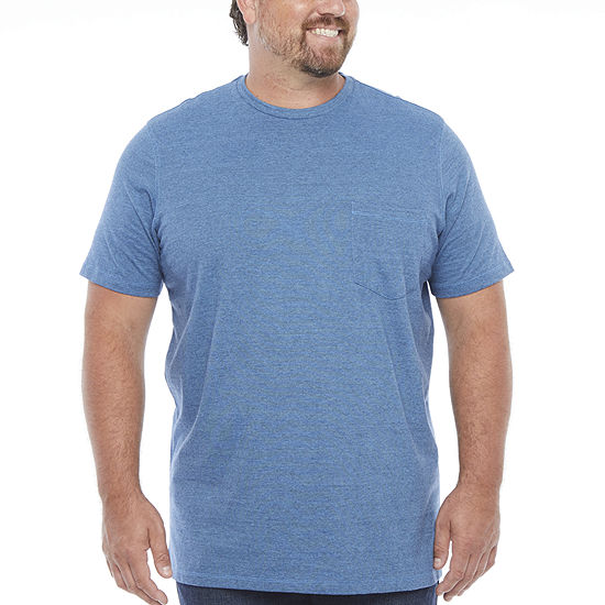 The Foundry Big & Tall Supply Co.-Big and Tall Mens Crew Neck Short Sleeve T-Shirt