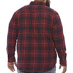 The Foundry Big & Tall Supply Co.Mens Long Sleeve Flannel Shirt