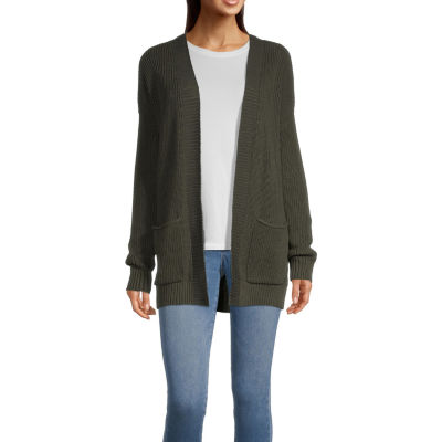 a.n.a Long Sleeve Open Front Cardigan