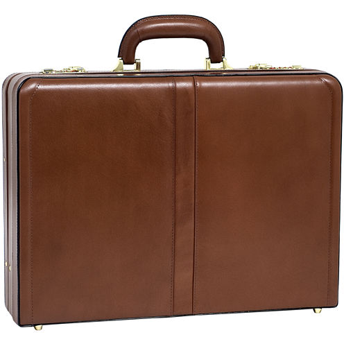 "McKleinUSA Harper Leather 4.5"" Expandable Attaché Briefcase"