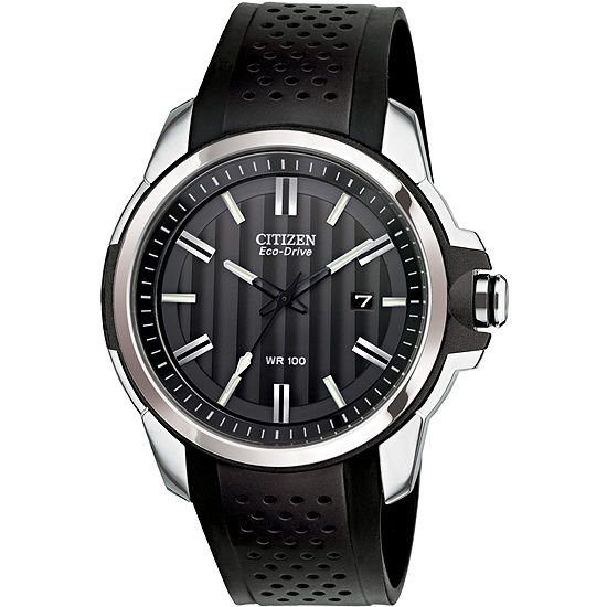 Drive from Citizen Men'S Mens Black Strap Watch-Aw1150-07e