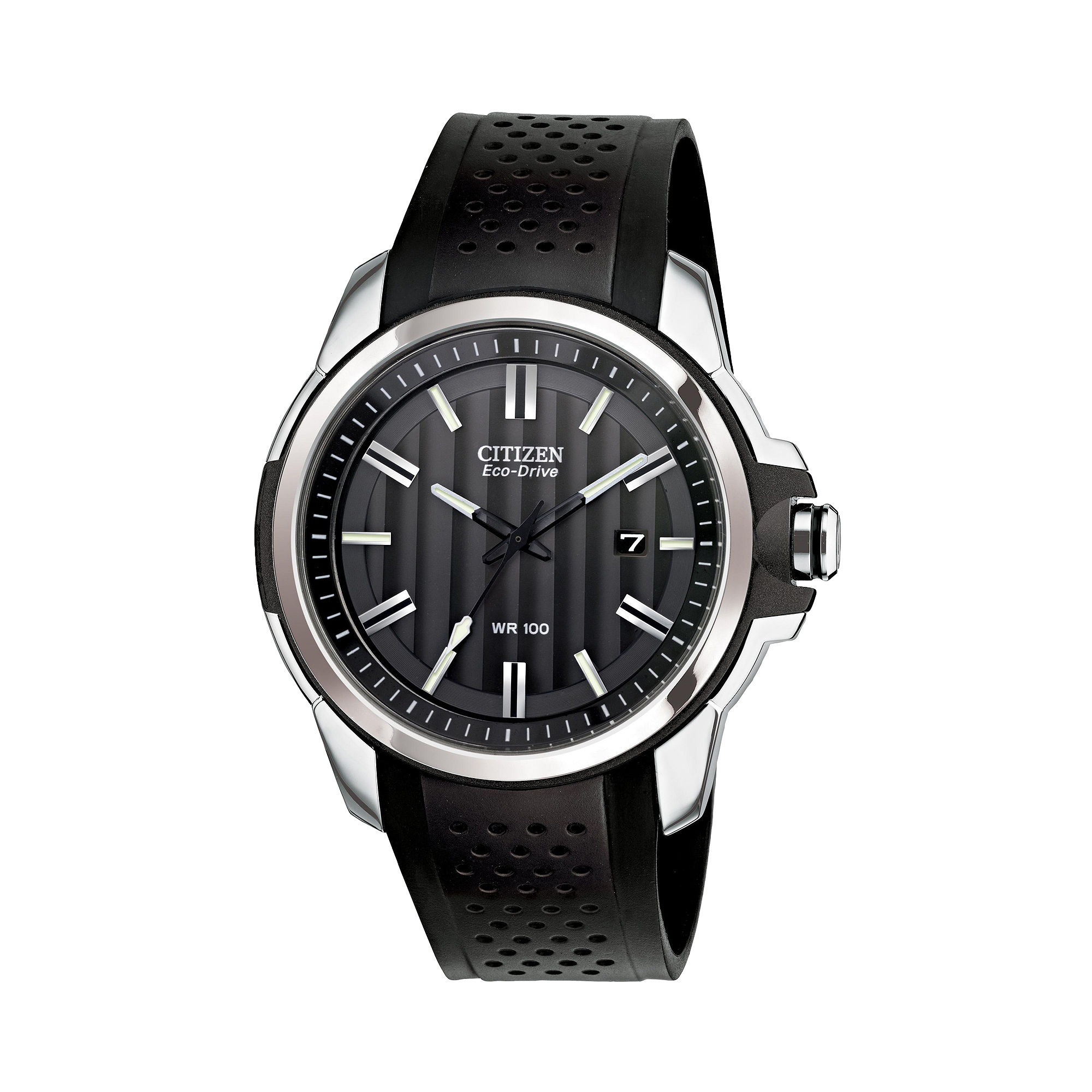 Drive from Citizen Eco-Drive Black Strap Watch AW1150-07E