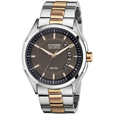 Drive from Citizen® Eco-Drive® Mens Two-Tone Watch AW1146-55H