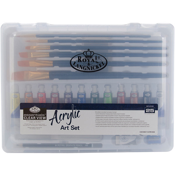 Clearview Medium Acrylic Painting Art Set