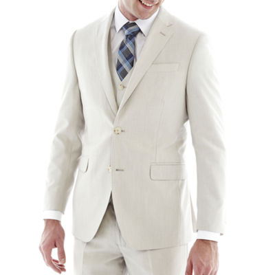 J.F. J Ferrar® Regular Fit Bone Suit Jacket