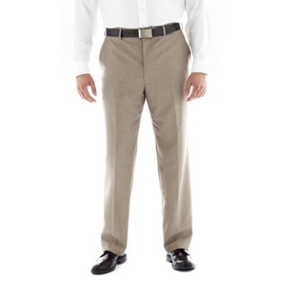 JF J. Ferrar® Flat–Front Suit Pants–Big & Tall
