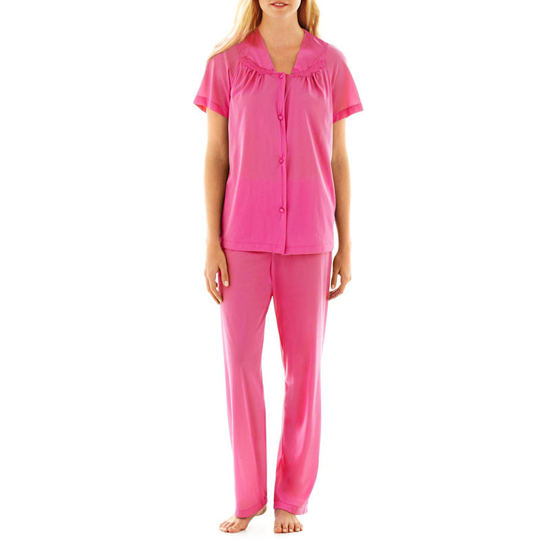 """Vanity Fair Coloratura"""" Pajama Set - 90107 - Plus plus size,  plus size fashion plus size appare"""
