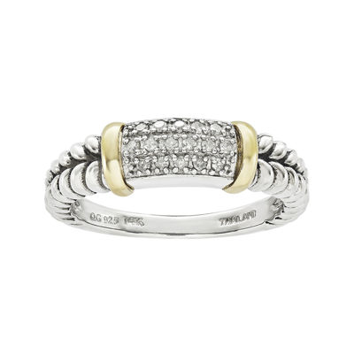 Shey Couture 1/8 CT. T.W. Diamond Sterling Silver Ring