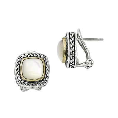 Shey Couture Mother-of-Pearl Sterling Silver Earrings
