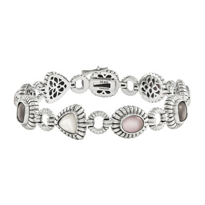 Shey Couture Sterling Silver Mother-of-Pearl Bracelet