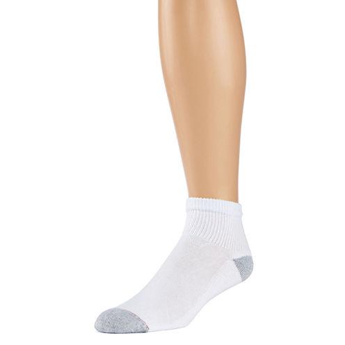 Hanes® 10-pk. Mens Quarter Socks + Bonus Pair