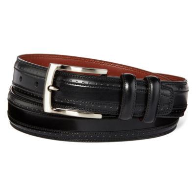 Stafford® Wingtip Dress Belt